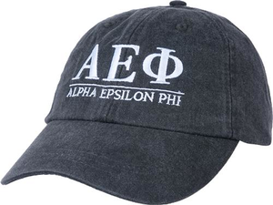 Greek Letters Hat - aephi