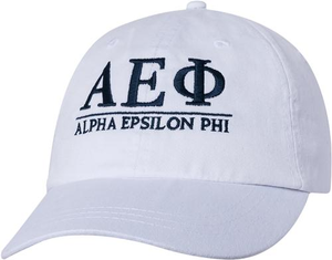 Greek Letters Hat - aephi