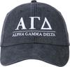 Greek Letters Hat - alpha gam image 2