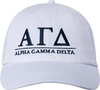 Greek Letters Hat - alpha gam image 2