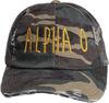 Jagged Font Hat - alpha o image 2
