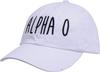 Jagged Font Hat - alpha o image 1