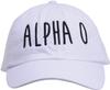 Jagged Font Hat - alpha o image 3