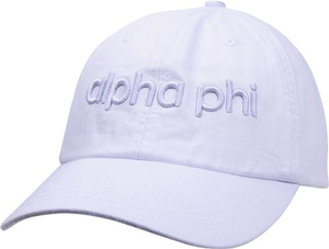 3D Embroidery Hat - alpha phi