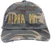 Jagged Font Hat - alpha phi image 2