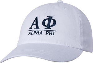 Greek Letters Hat - alpha phi