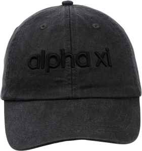 3D Embroidery Hat - alpha xi