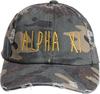 Jagged Font Hat - alpha xi image 2