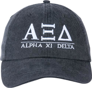 Greek Letters Hat - alpha xi