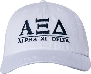Greek Letters Hat - alpha xi