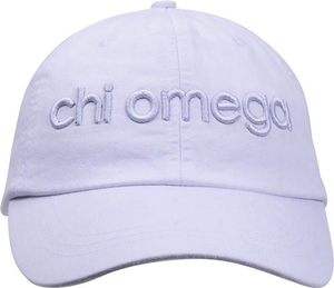 3D Embroidery Hat - chi omega