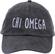 Jagged Font Hat - chi omega image 2