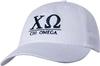Greek Letters Hat - chi omega image 1