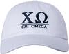 Greek Letters Hat - chi omega image 2
