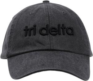 3D Embroidery Hat - tri delta