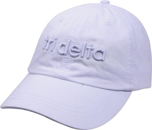 3D Embroidery Hat - tri delta