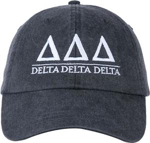 Greek Letters Hat - tri delta
