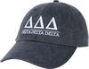 Greek Letters Hat - tri delta image 1