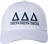 Greek Letters Hat - tri delta image 2