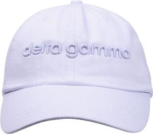 3D Embroidery Hat - delta gamma
