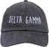 Jagged Font Hat - delta gamma image 2