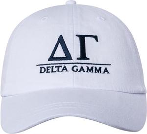 Greek Letters Hat - delta gamma