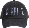Jagged Font Hat - d phi e image 2
