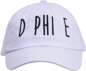 Jagged Font Hat - d phi e