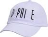Jagged Font Hat - d phi e image 1