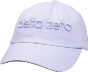 3D Embroidery Hat - delta zeta