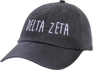 Jagged Font Hat - delta zeta
