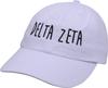 Jagged Font Hat - delta zeta image 1