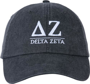 Greek Letters Hat  - delta zeta