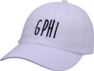 Jagged Font Hat - gphi