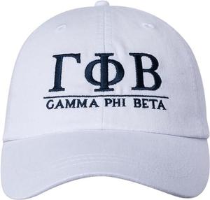 Greek Letters Hat  - gphi