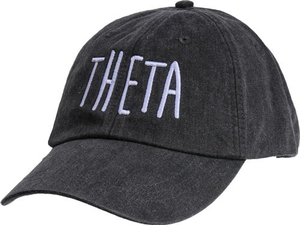 Jagged Font Hat - theta