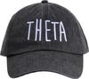 Jagged Font Hat - theta image 2