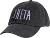 Jagged Font Hat - theta image 1