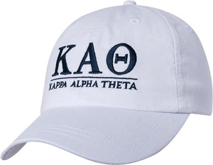 Greek Letters Hat - theta