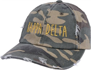 Jagged Font Hat - kappa delta