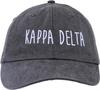 Jagged Font Hat - kappa delta image 2