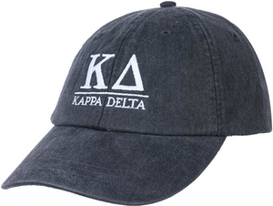 Greek Letters Hat  - kappa delta