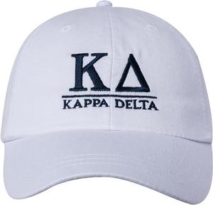 Greek Letters Hat  - kappa delta