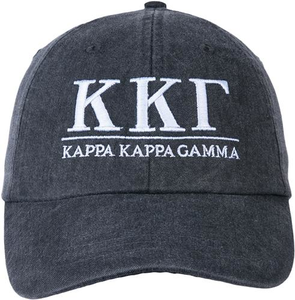 Greek Letters Hat  - kappa