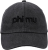 3D Embroidery Hat - phi mu image 2