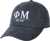 Greek Letters Hat - phi mu image 1