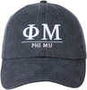 Greek Letters Hat - phi mu image 2