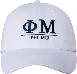 Greek Letters Hat - phi mu