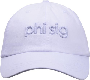 3D Embroidery Hat - phi sig