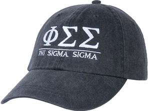 Greek Letters Hat  - phi sig